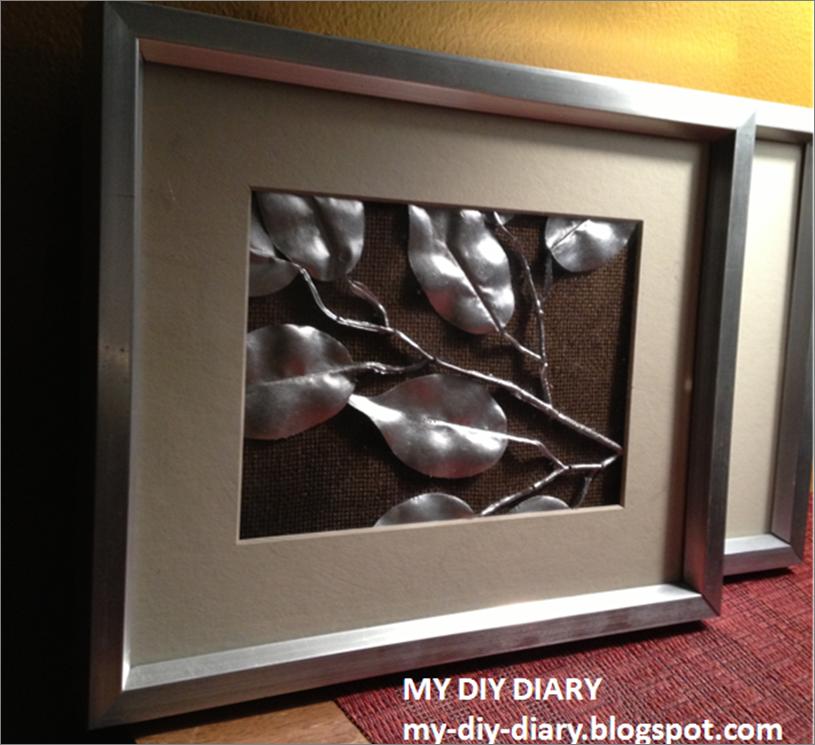My DIY Diary: DIY: How To Make Cute & Easy Wall Art!