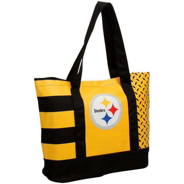 a680d6f4729 Pittsburgh Steelers 6-Time Super Bowl Champions Commemorative Tote Bag -  NFLShop.com