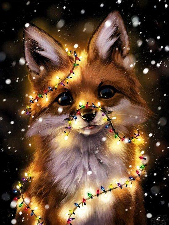 Diamond painting Kerstmis