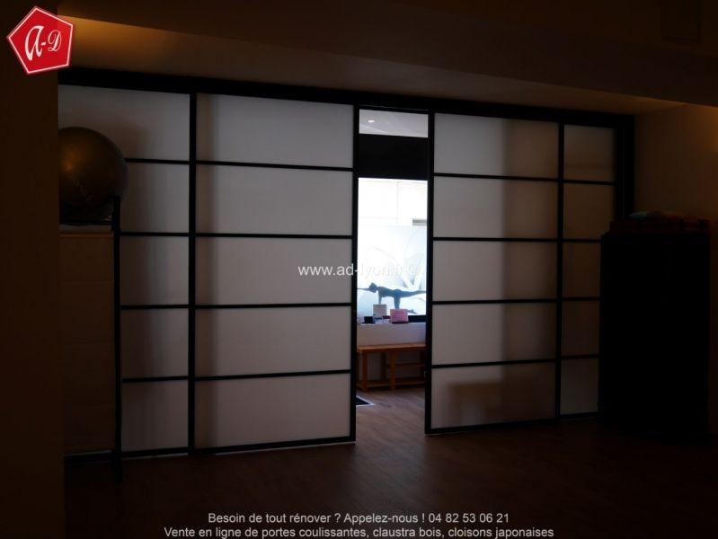 Cloison amovible japonaises en 4 vantaux   Cloison japonaise ...