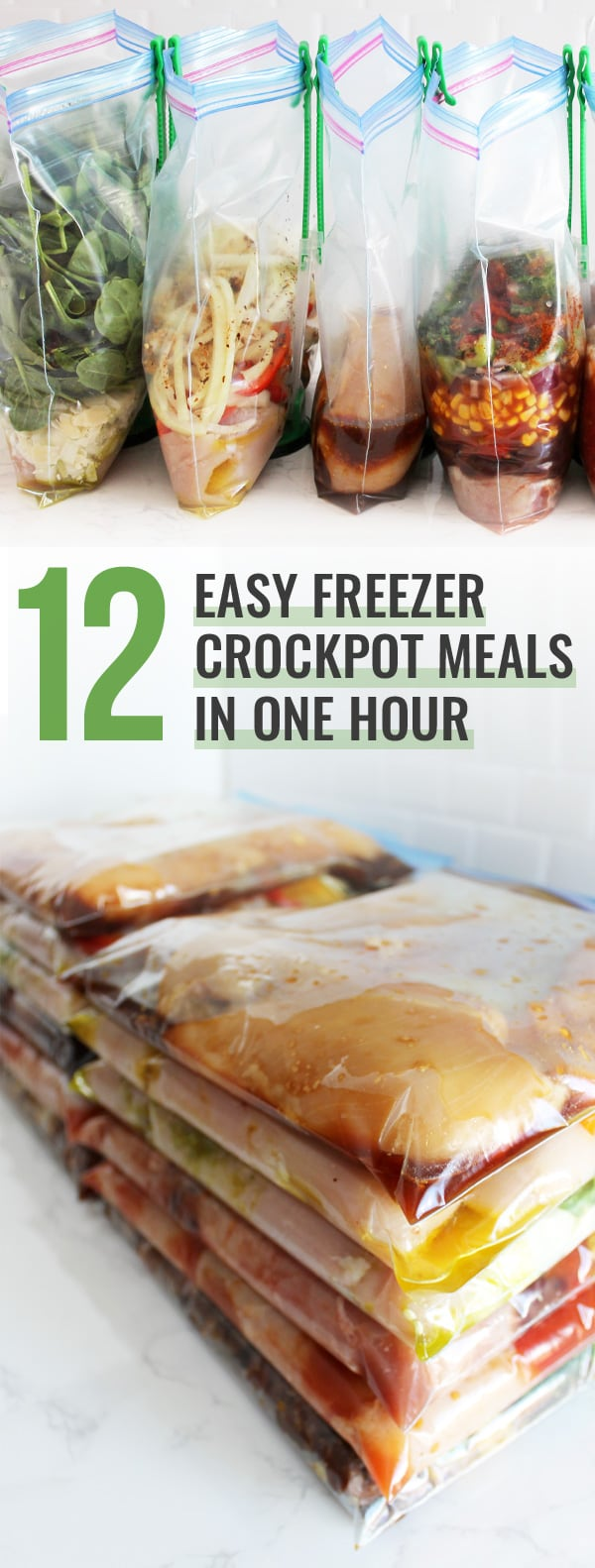 12 Easy Freezer Crockpot Meals in One Hour | The Family Freezer