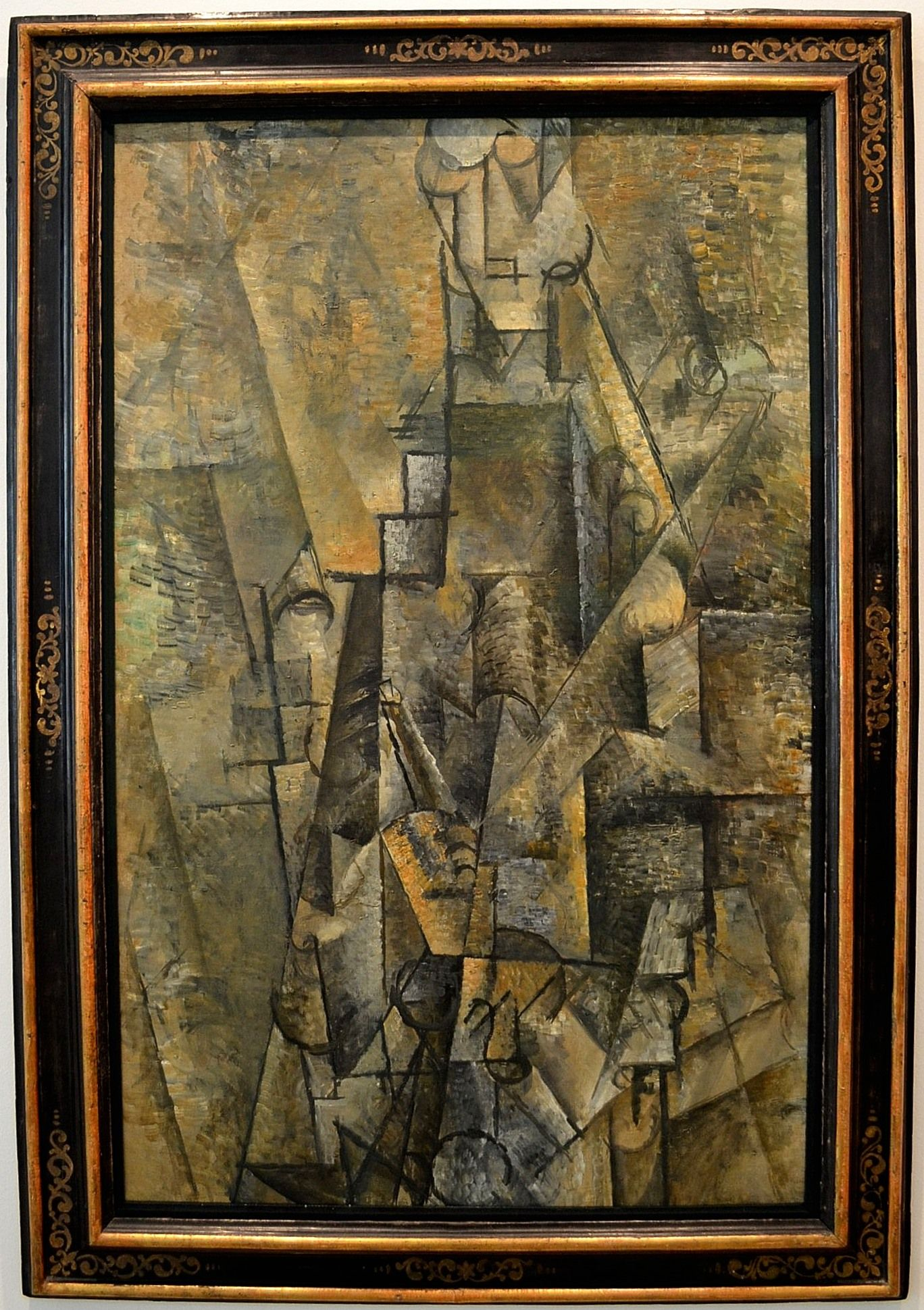 Man with a Clarinette 1912 by Picasso The Thyssen Bornemisza Museum