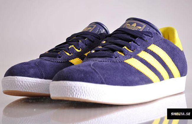 adidas Gazelle Skate | Purple / Yellow