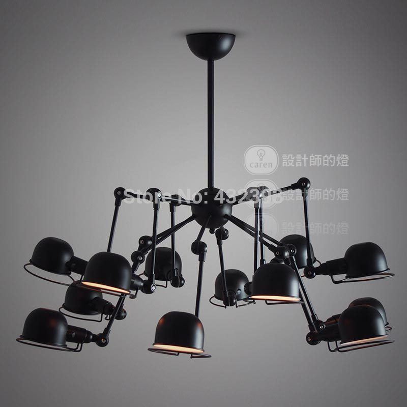 Find More Chandeliers Information about Vintage American Style 12 ...