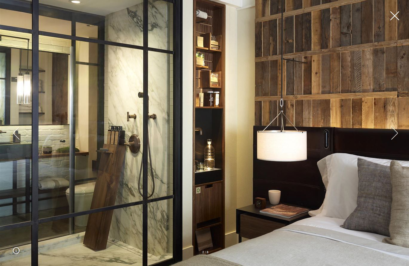 One Hotel Central Park Projeto quarto de hotel