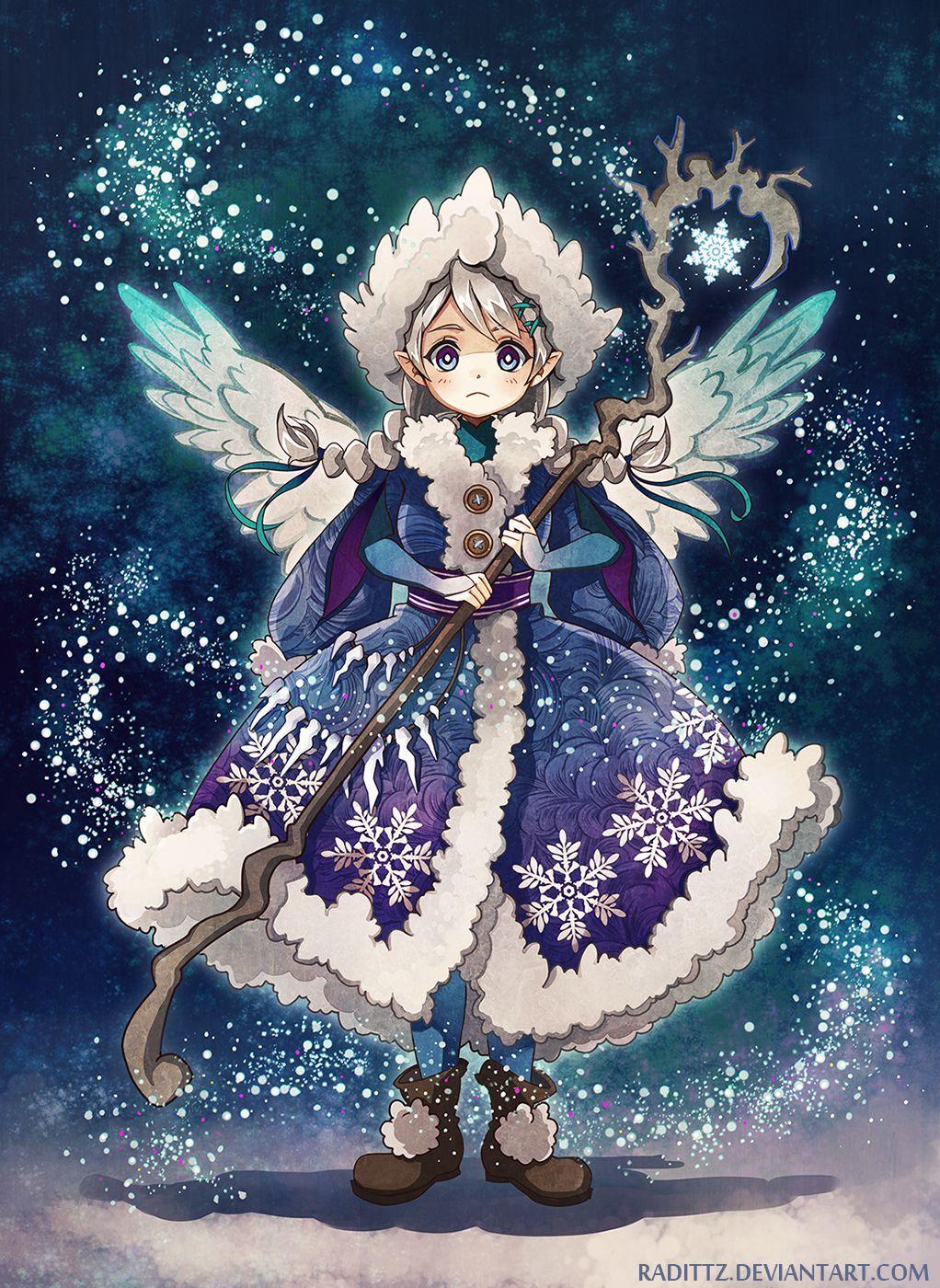 Snow Angel By Radittz Deviantart Com On Deviantart Snow Angels