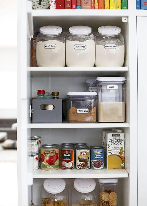 Minimalist Pantry 2 0 Thefauxmartha Small Pantry Organization Food Storage Organization Small Pantry