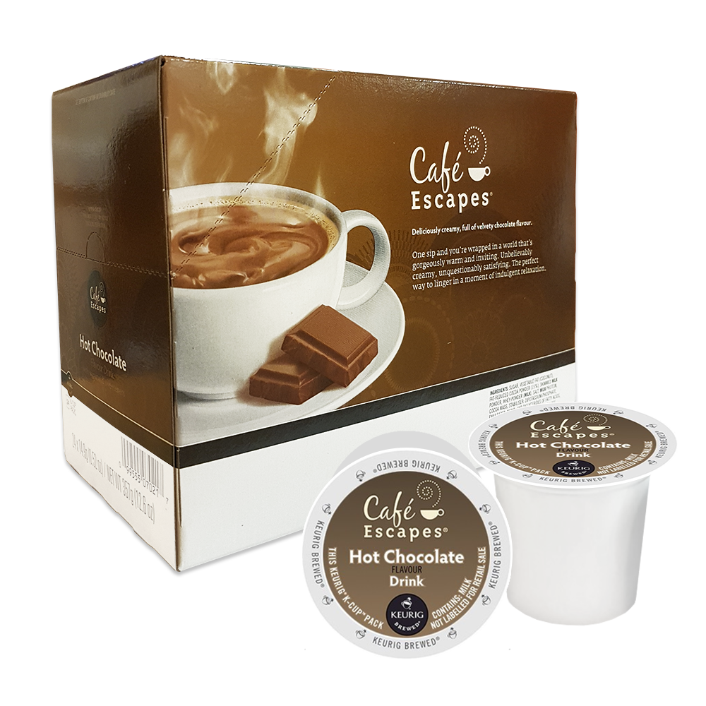 Café Escapes is a smooth and sophisticated, creamy milk