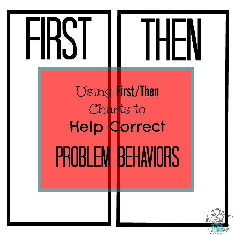 How to use  first then behavior chart correct problem behaviors also rh pinterest