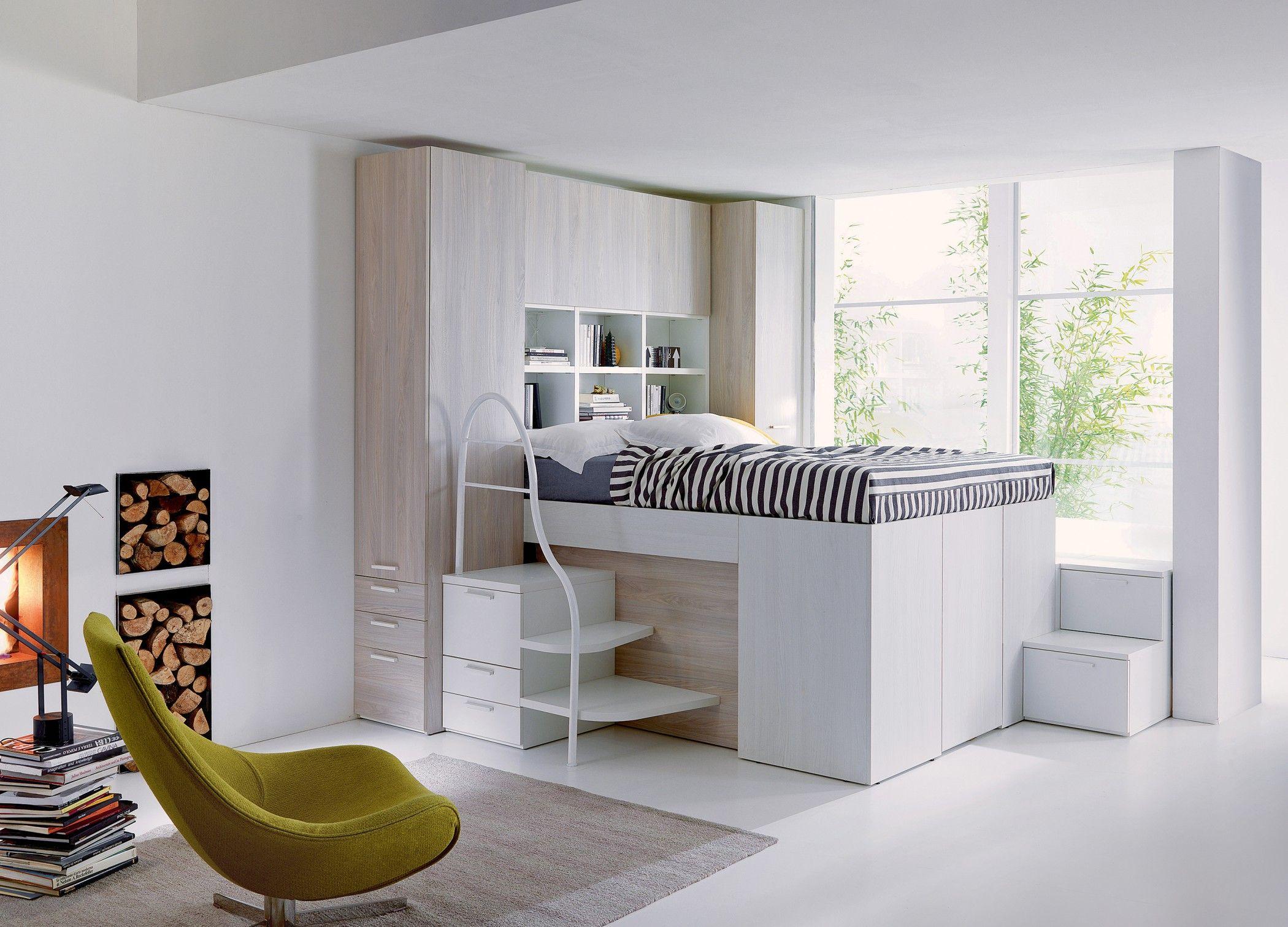 Modus Camerette ~ Dielle modus: un letto un progetto. arredo zona notte