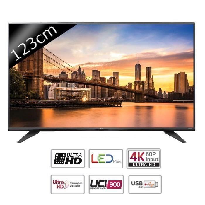 lg 49uf671v tv led ultra hd 4k 123cm