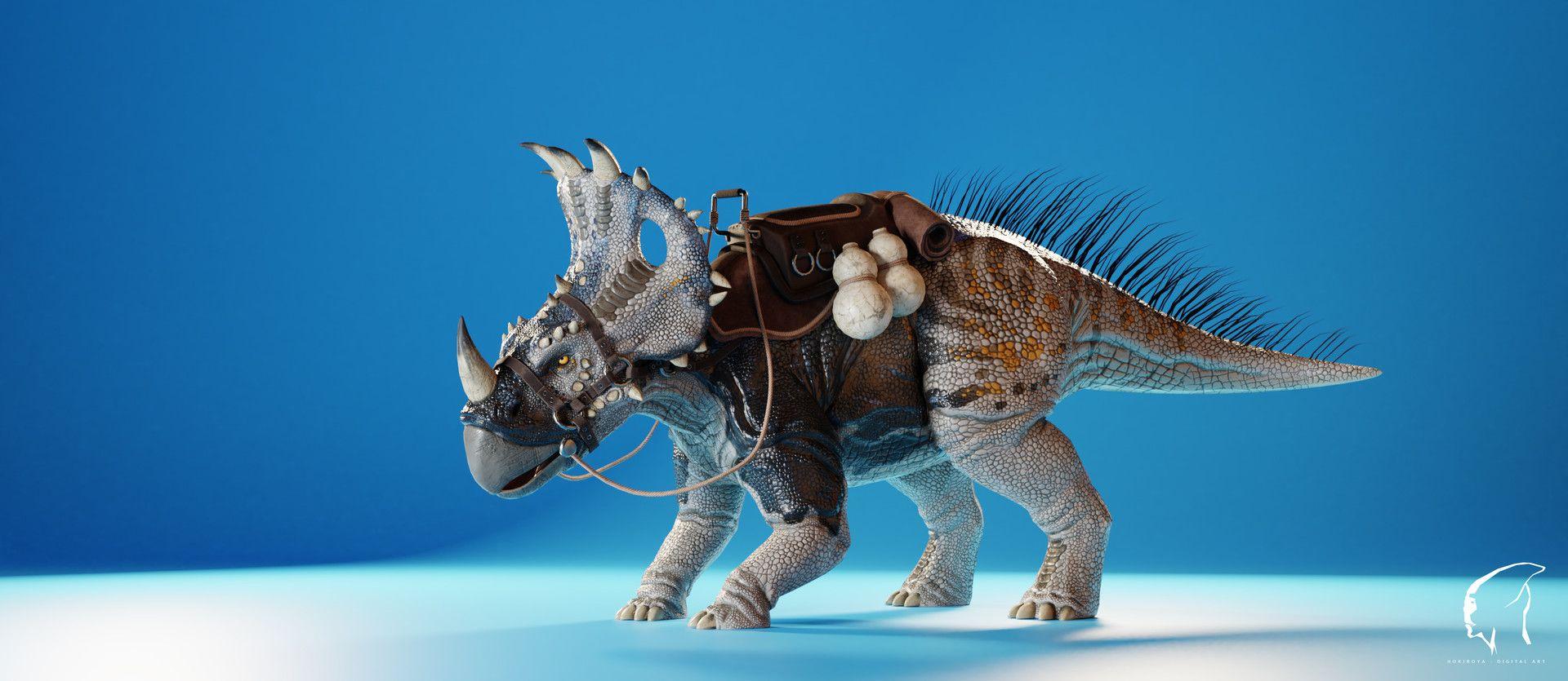 ArtStation - Sinoceratops - ARK:Mysterious Mysteries Mod