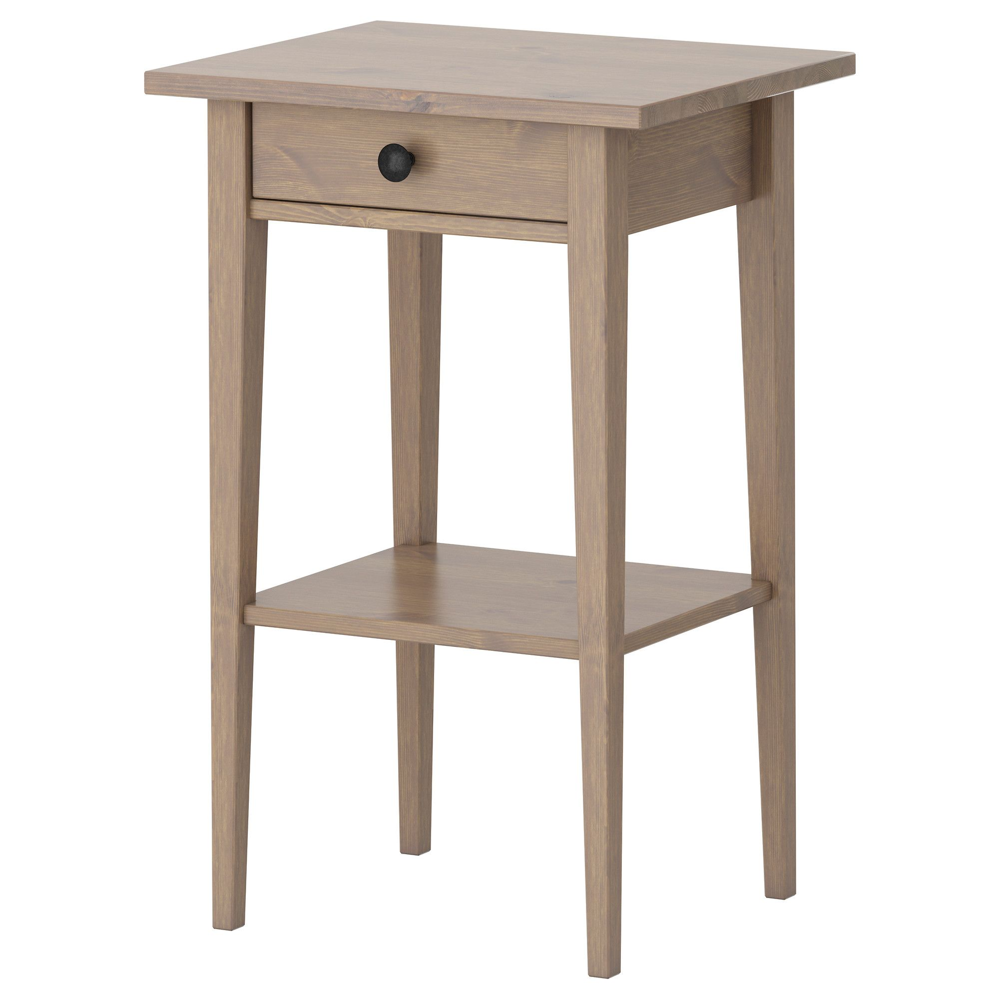 IKEA HEMNES BlackBrown Nightstand Hemnes nightstand