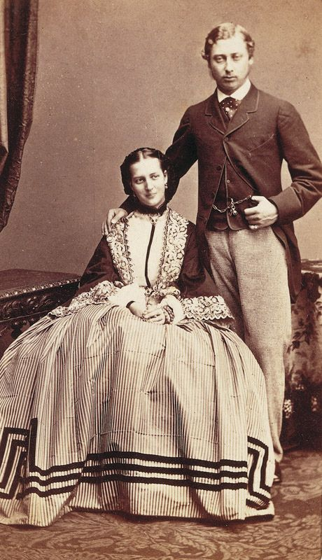 Engagement Of Albert Edward Prince Of Wales And Princess Alexandra