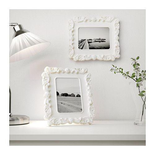 ikea kvill frame white white 5x7