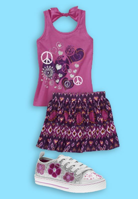 outfit made with the walmart back to school closet creator check it out and make your own at