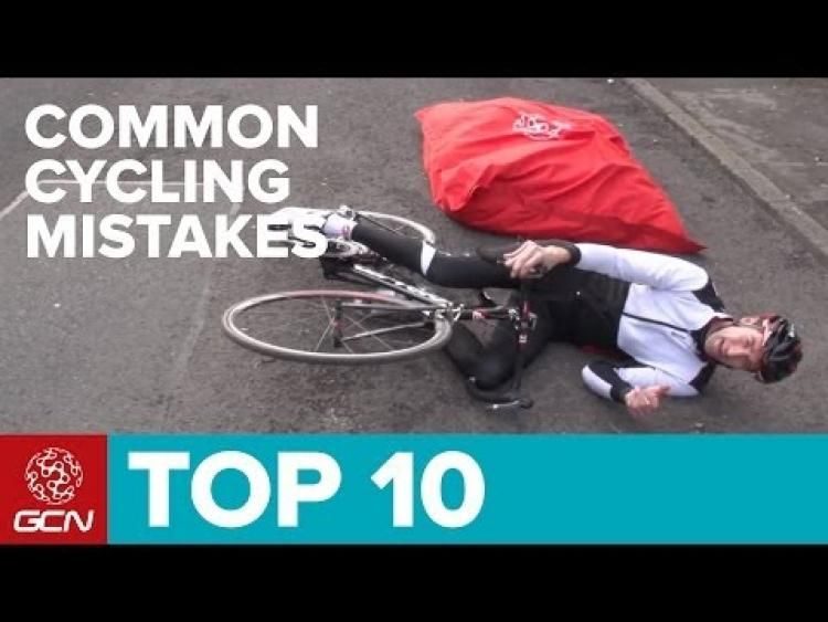 How to avoid ten of the most common cycling mistakes.