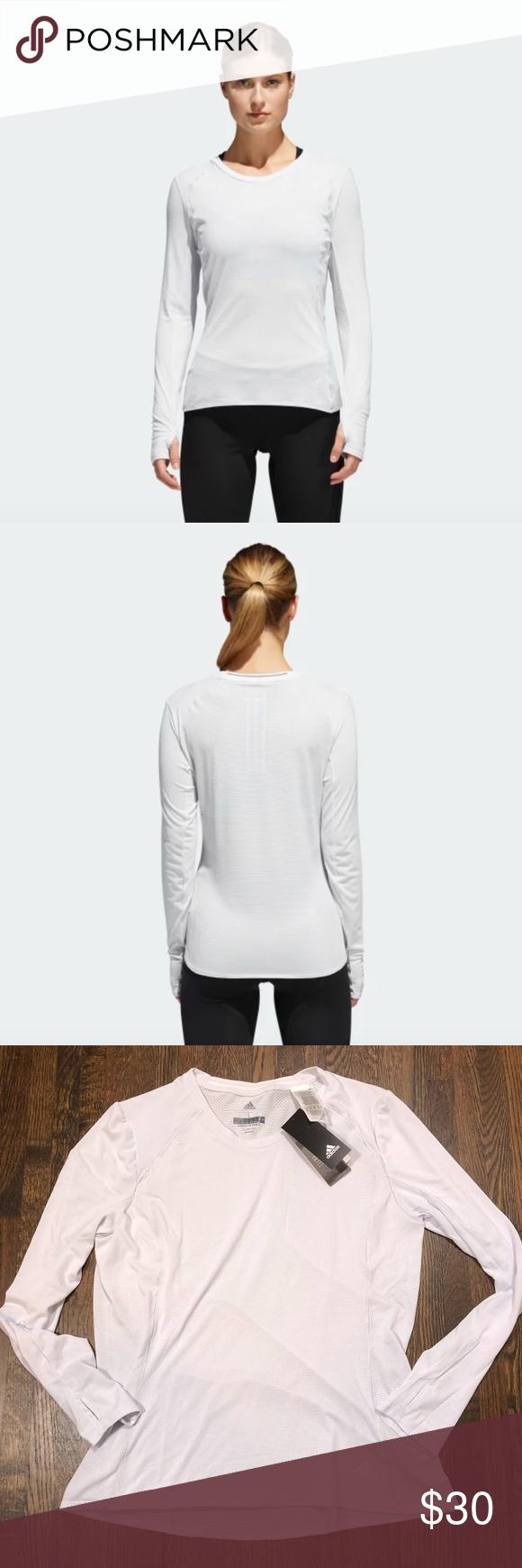 Adidas Supernova Long Sleeve Tee Size XS S L adidas Womens