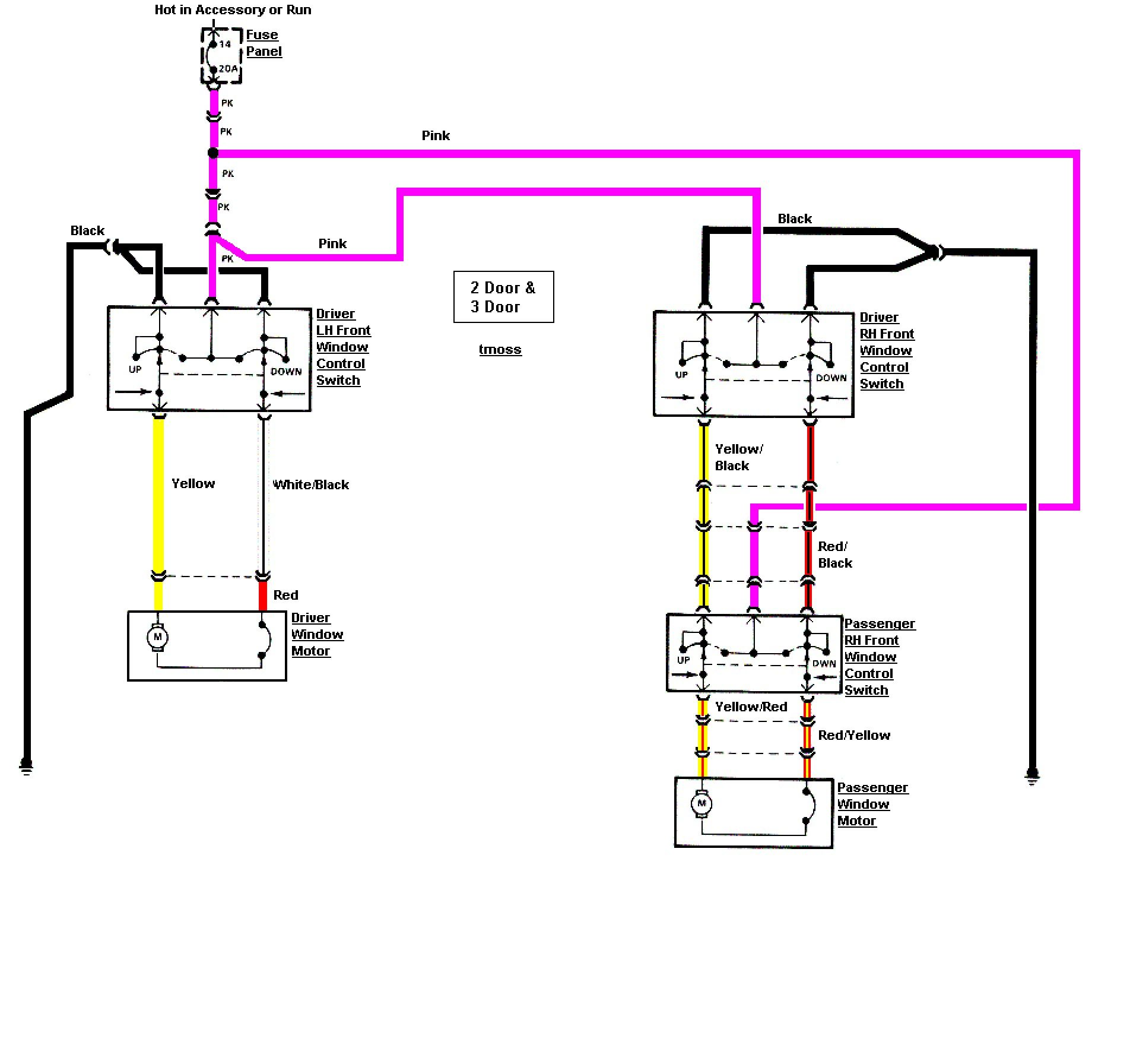New Wiring Diagram Ac Mobil Diagram, Black yellow and