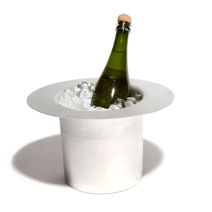 Kate Spade's silver plated 'two of a kind ice bucket' is perfect for summer entertaining.