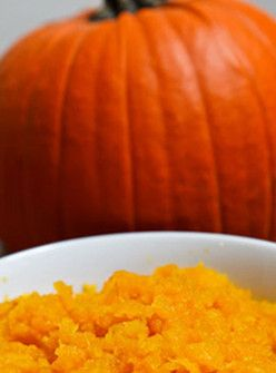 A DIY Pumpkin Face Mask To Protect Against Fall Winds+#refinery29