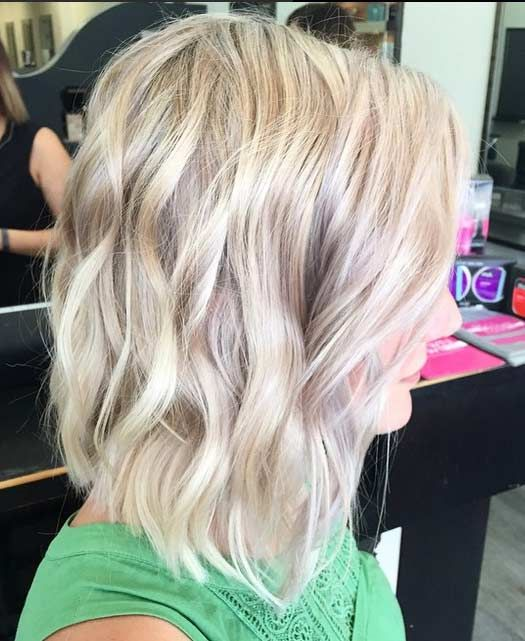 The ash blonde hair color if your skin shows a pale white face. You ...