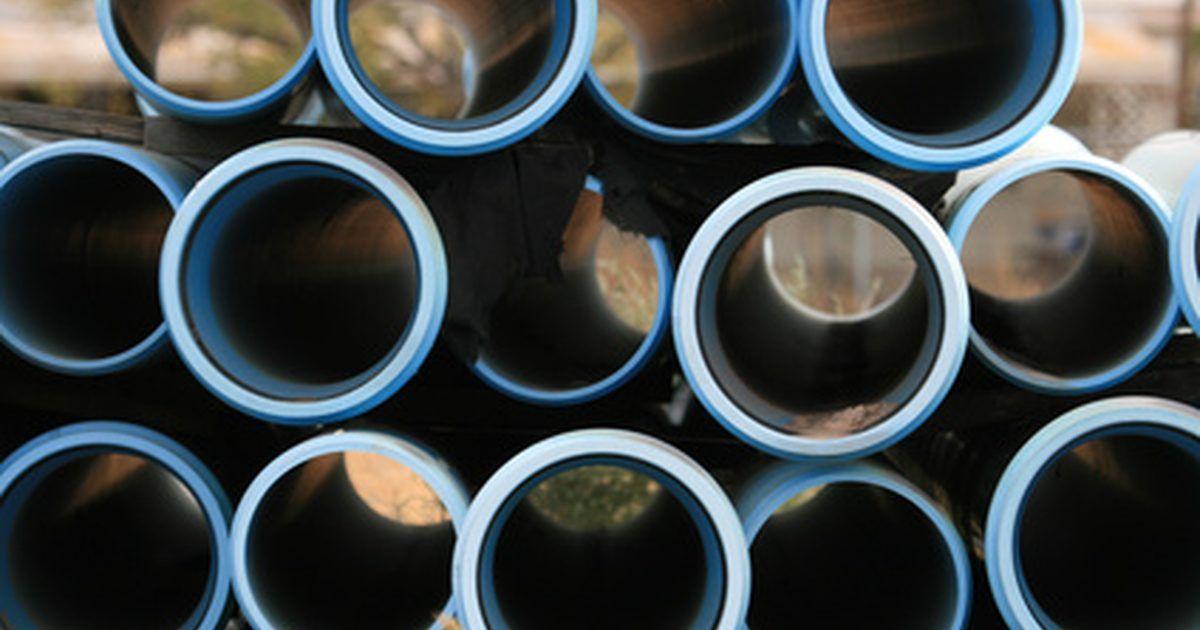 Projetos de jardim com tubos de PVC de di?metro grande