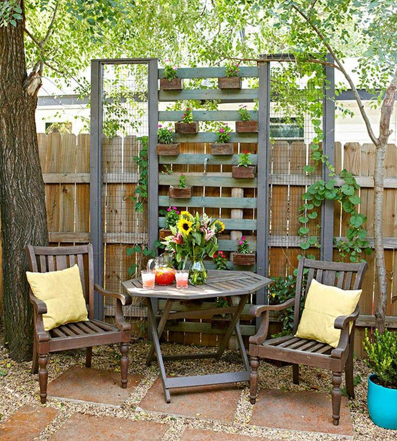 16 Creative Diy Vertical Garden Ideas For Small Gardens: Garden Furniture Made Out Of An Old