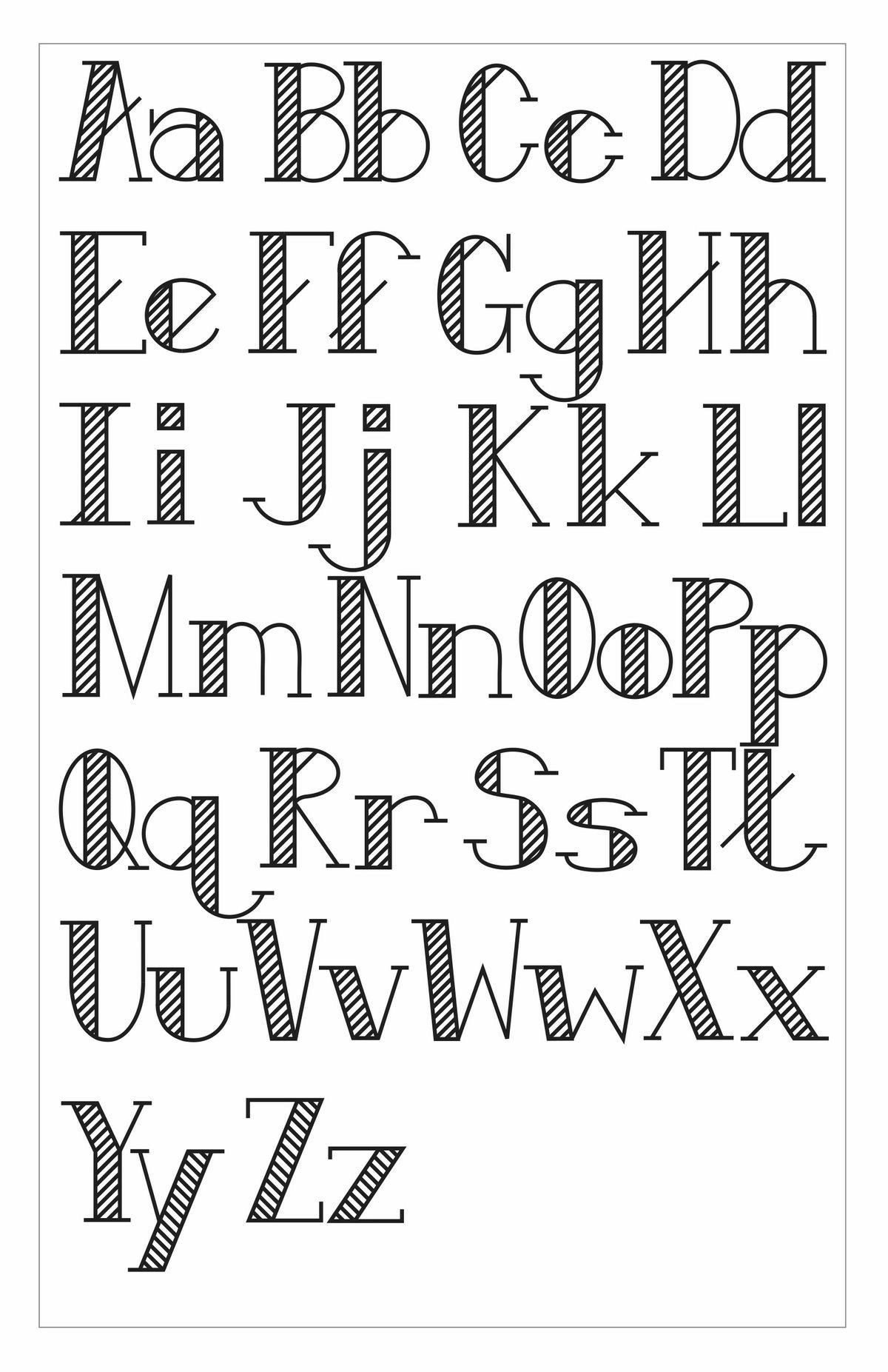 Pin by Rita Phelps on fonts | Lettering alphabet ...  Creative Lettering Styles