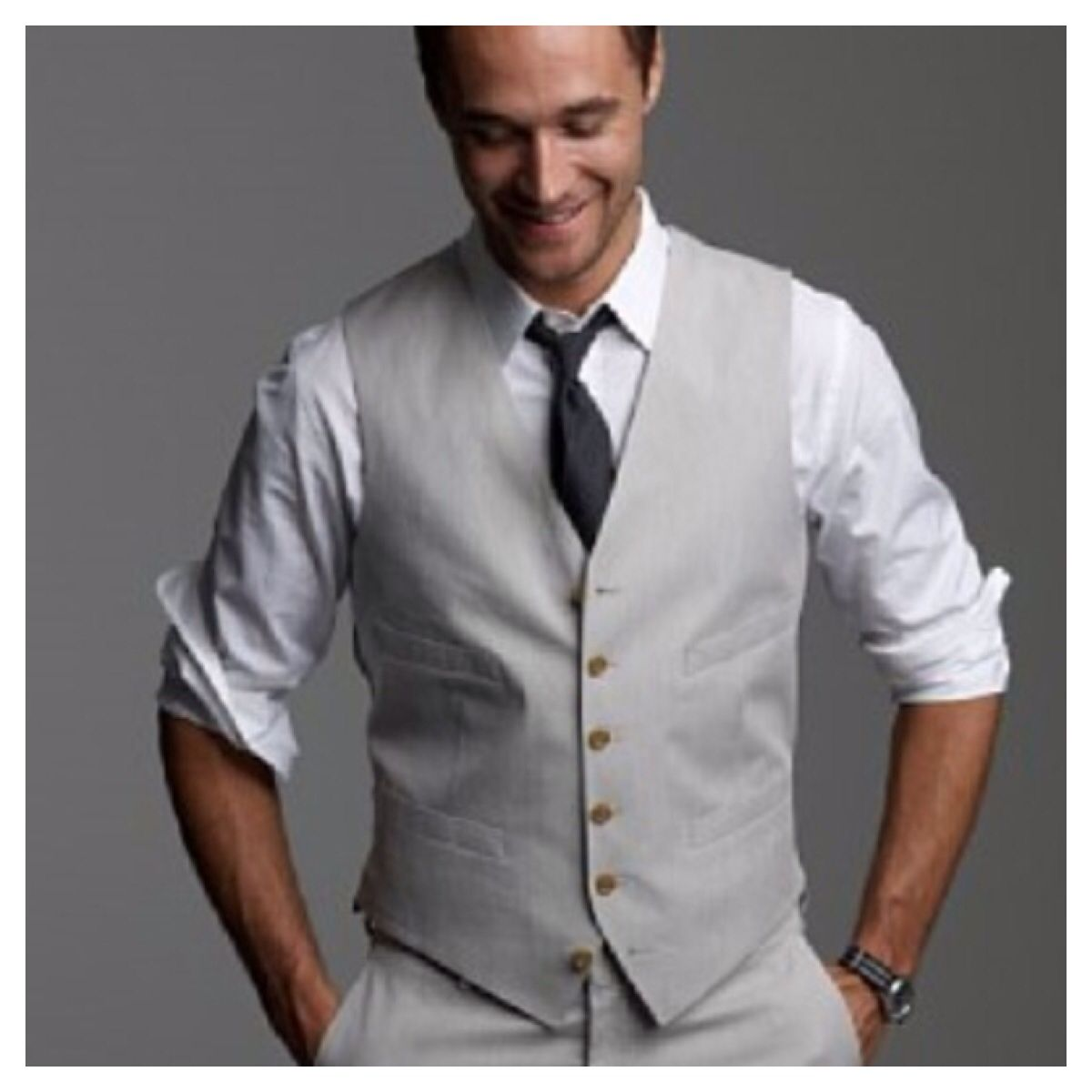 Light grey suit - wedding casual | Wedding Day | Pinterest ...