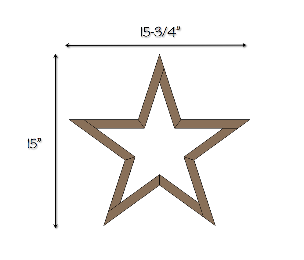 Diy Wooden Star Free Plans Rogue Engineer Wooden Stars Wooden Diy Wood Stars