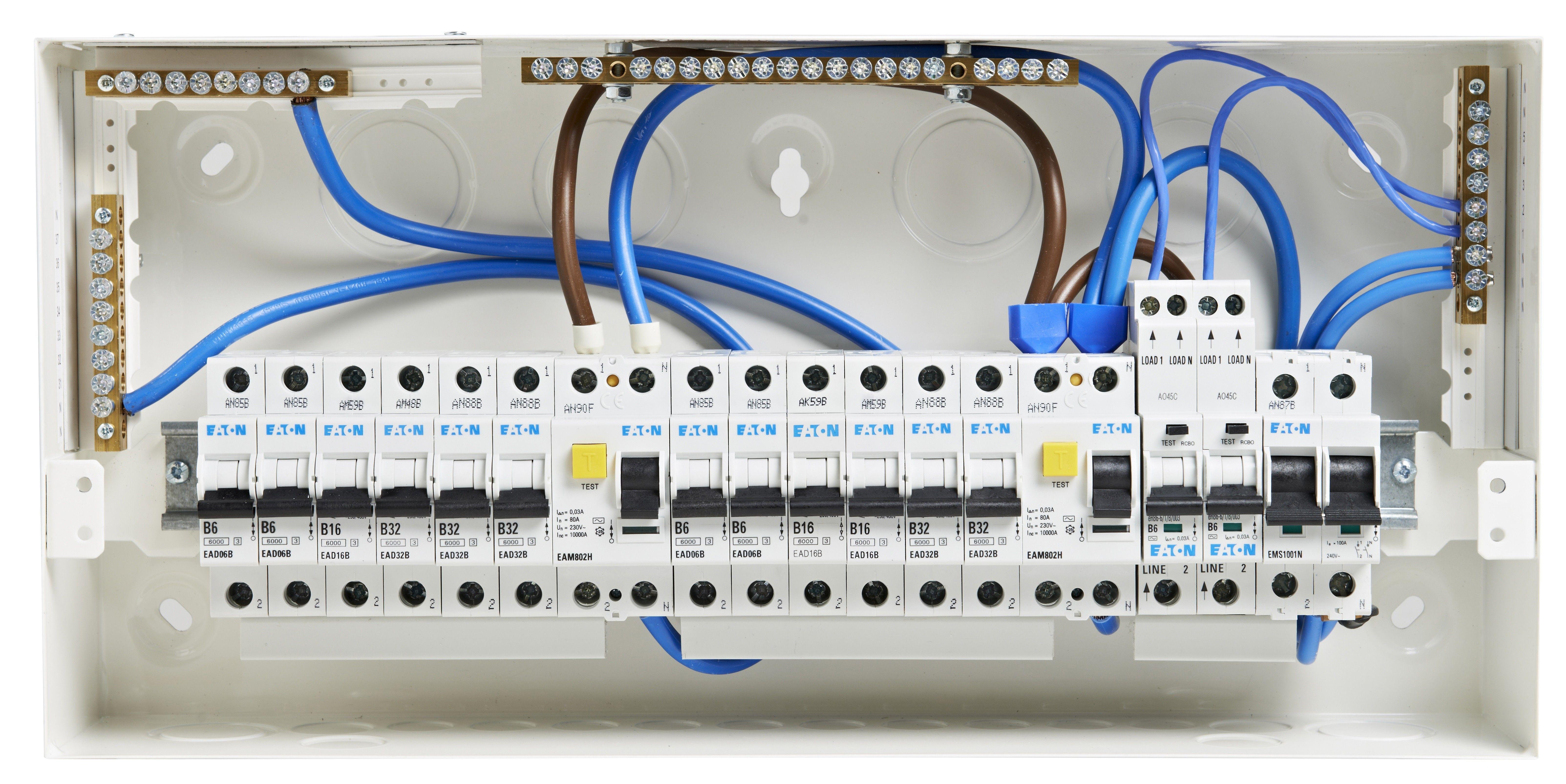 New Split Consumer Unit Wiring Diagram Diagram Diagramtemplate Diagramsample