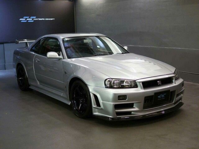 Nissan Skyline R34 Gt There Are Only 20 In The World. Price 510,000 $  460,000