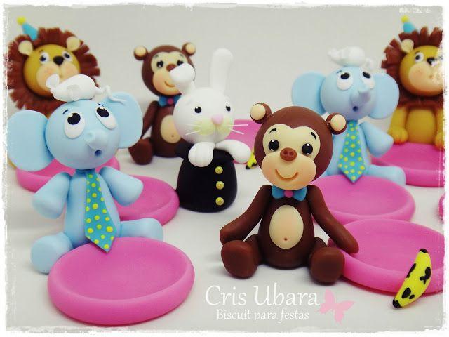Ateliê Cris Ubara - Biscuit para festas: circo