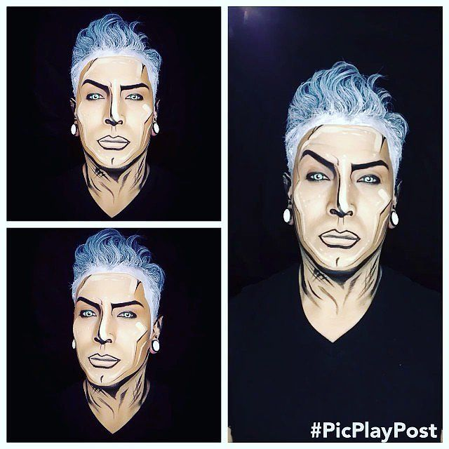 they will no longer be humans but 2d beings! i want the hair to reflect this as well stiff and 2 dimensional! lots and lots of hairspray we can also build it with wigs if need be