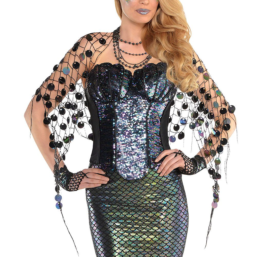 Adult Sea Siren Mermaid Net Wrap Siren costume, Siren