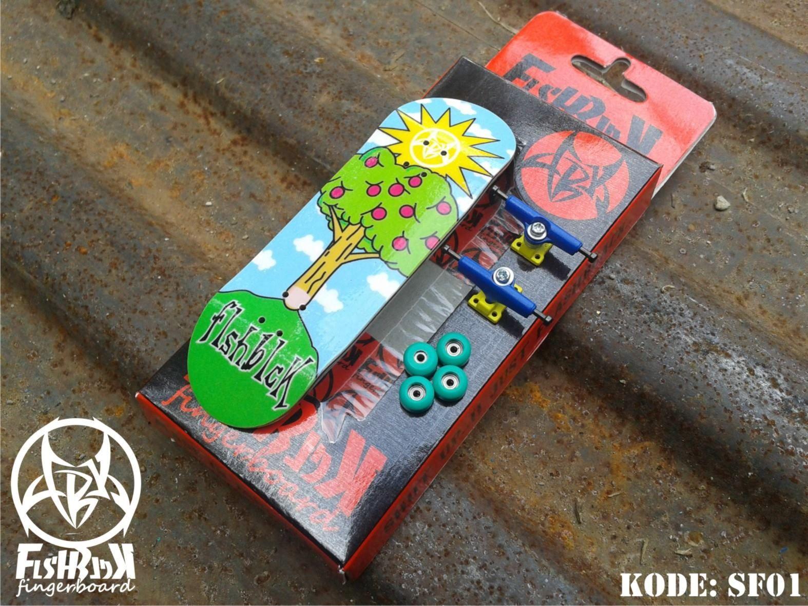 Série Tech Deck 13 Finesse Sonic Doigt Skateboard