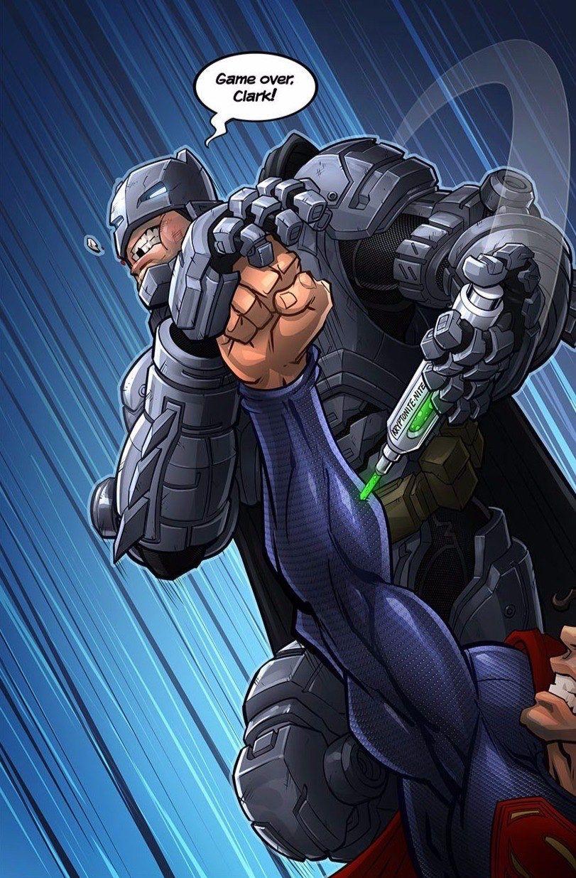 Batman Vs Superman By Patrick Brown Ganeschabottest With