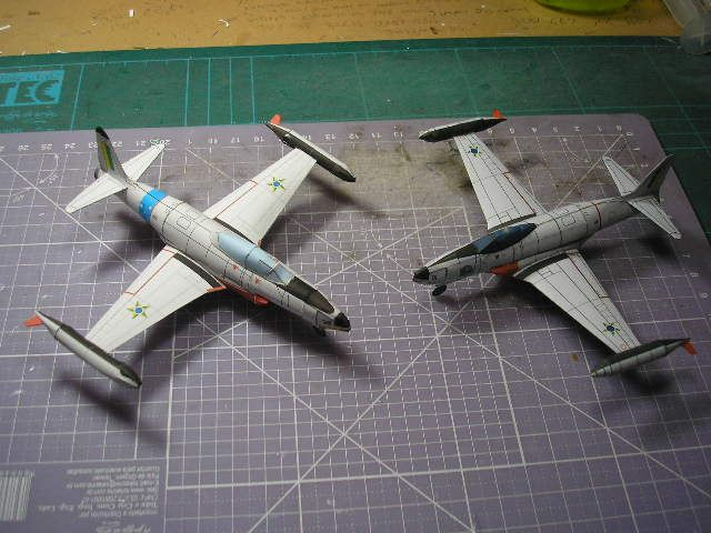 F-80 e TF-33