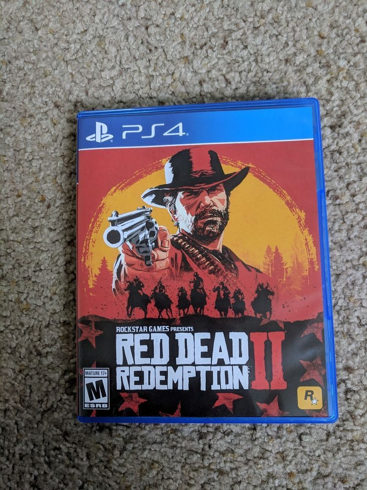 Red Dead Redemption Ii 2 Ps4 Mint In The Case Red Dead Redemption Red Dead Redemption Ii League Of Legends Game