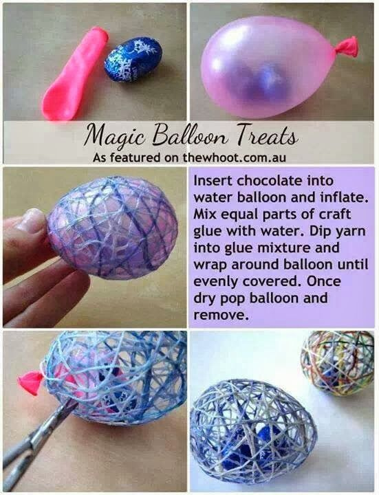 Magic #Easter Egg #Craft #DIY