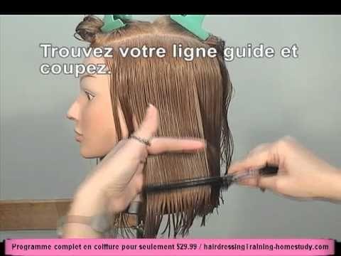 Comment couper cheveux longs fille
