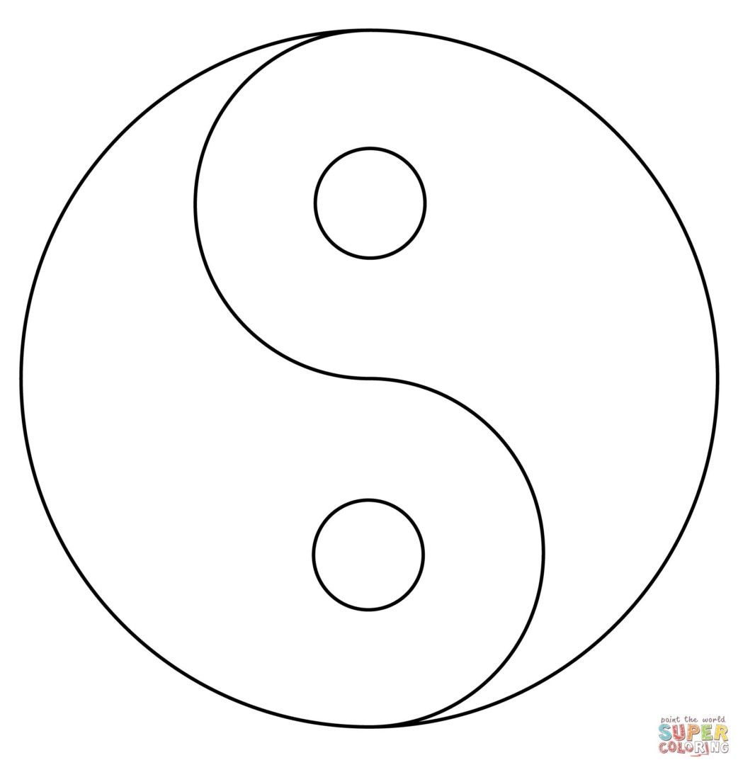 Coloring Pages Yin Yang : Http colorings yin yang coloring pages