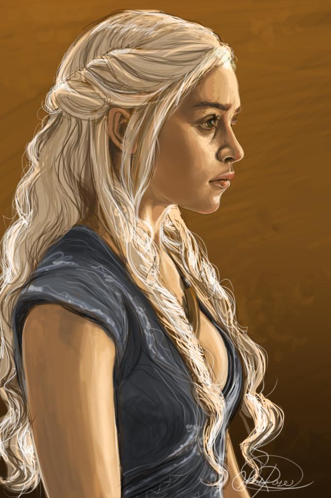 Khaleesi by Curly-Qs on DeviantArt