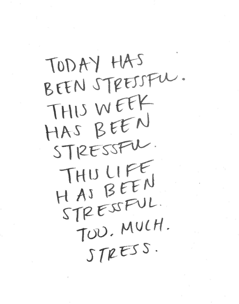 Stressful Life Quotes Too Much Stress Image Viadevilinanewdress  Quotes  Pinterest