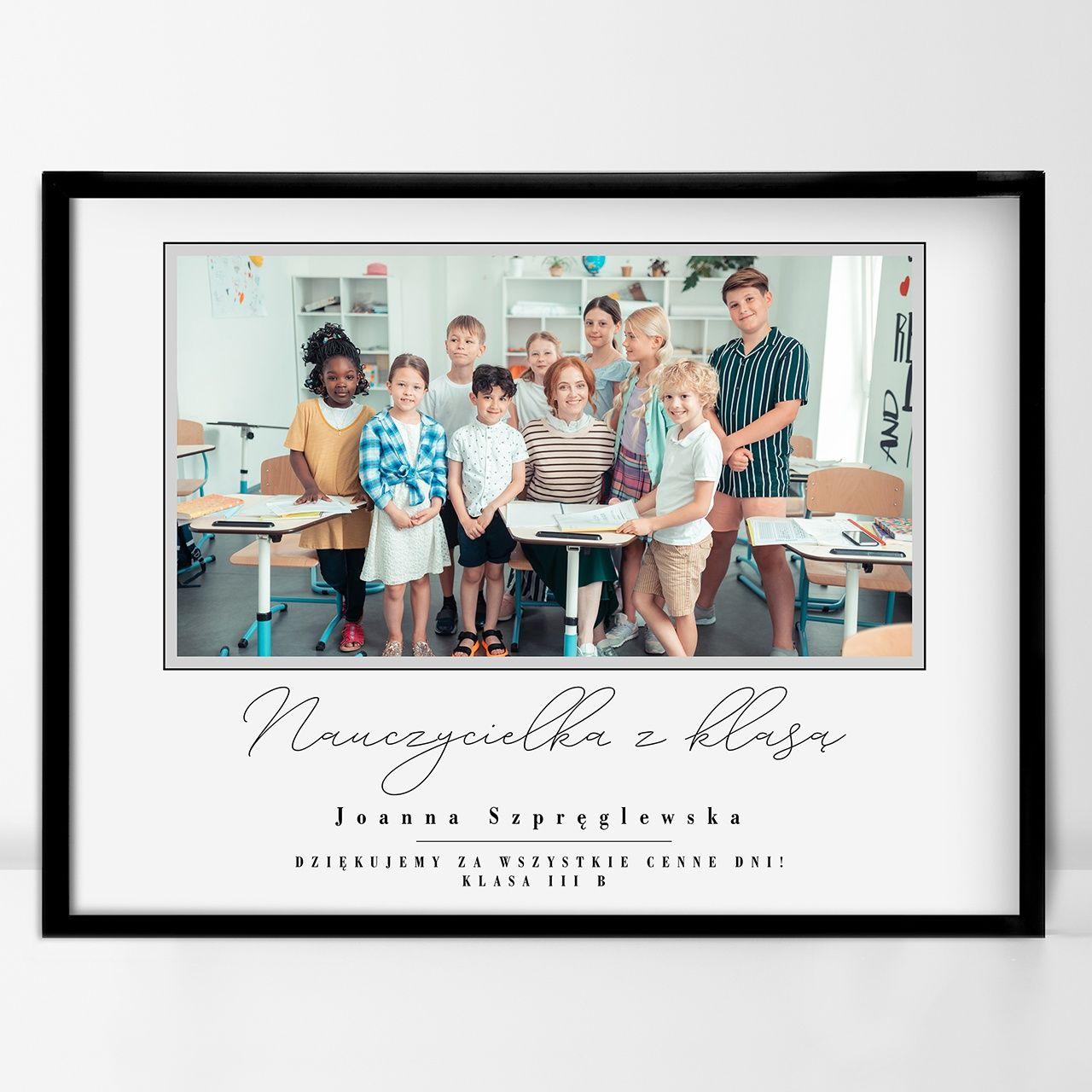 Plakat Personalizowany Na Dzien Nauczyciela Crazyshop Pl Plakat
