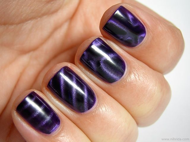Magnetic Nail Polish. Who knew??? | My Style | Pinterest | Magnetic ...