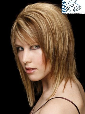 Female Haircut Styles Medium Length | Medium Length Hairstyles For ...