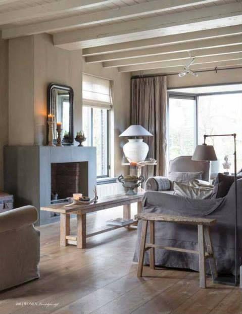 #Livingroom, beautiful colors #fireplace