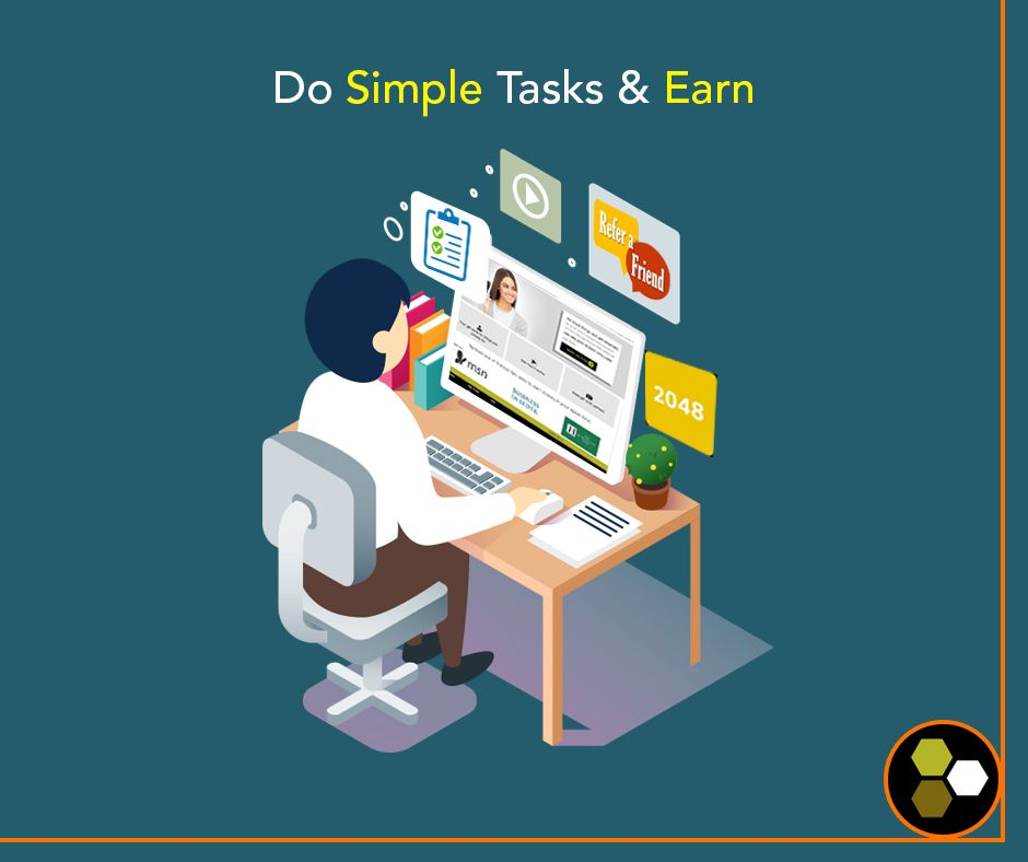 Log on to our website and start earning wherever you are